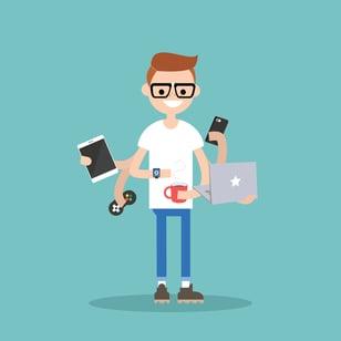 millennial-multitasking